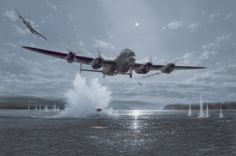 Download wallpaper lancaster bomber, british aircraft, dambusters, war, ww2, art, aviation resolution 2000x1326