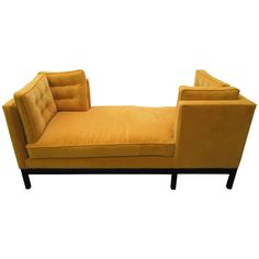 Outstanding Harvey Probber Tete-e-Tete Sofa Mid-century Modern | From a unique collection of antique and modern settees at http://www.1stdibs.com/furniture/seating/settees/