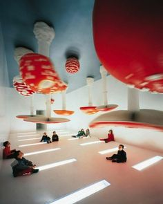 Upside Down Mushroom Room par Carsten Höller - Journal du Design #art #installation