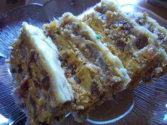 Baking Recipes, Cake Recipes, Dessert Recipes, Croation Recipes, Serbian Recipes, Serbian Food, Torta Recipe, Torte Recepti, Torte Cake