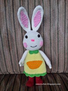 Free amigurumi pattern - Mimi Rabbit or in Indonesia called Mimi Kelinci is one of character from Mimi Rabbit Series (seri Mimi kelinci) tha...