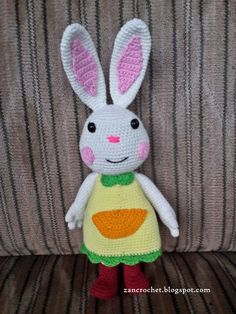 Free amigurumi pattern - Mimi Rabbit or in Indonesia called Mimi Kelinci is one of character from Mimi Rabbit Series (seri Mimi kelinci) tha...