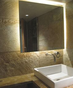 1000 images about edge lighting bath and vanity on for Bathroom strip light