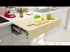 OPLA TOP Pull Out Work Top Surface | BOX15 - YouTube