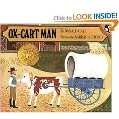 Reviewing the Caldecotts: 'Ox-Cart Man' by Donald Hall and Barbara Cooney