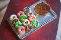 Assorted Donuts 1:12 Scale by TheMiniatureBazaar on DeviantArt