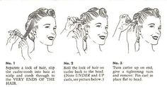 Vintage Hair | 1920s 1930s 1940s 1940s 1950s 1960s Vintage Hairstyles Made Easy