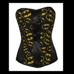 Batman Corset and many other Batman items from,  http://craftycorner101.com/0963383a275