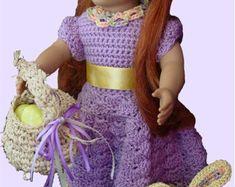 18 Inch Dolls Crochet Pattern 79 von ThreadsnStitchesUSA auf Etsy
