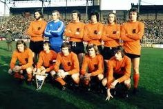 1970's dutch football side. Total football.