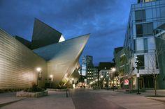 Denver | New wing of the Denver Art Museum.