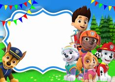 Paw Patrol Full Team Invitation Template for Kids' PartiesAnother kind of cartoon that is popular among the children is the Paw Patrol. Paw Patrol is a cartoon that tells a story about a group of dogs protecting their city. Paw Patrol Invitations, Paw Patrol Cartoon, Free Printable Birthday Invitations, Birthday Template, Birthday Party Invitations, Daughter Birthday, Baby Birthday, Birthday Parties, Creations
