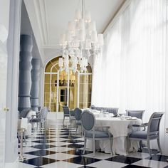 Terrazas del Casino Madrid-Spain.Design by Jaime Hayon