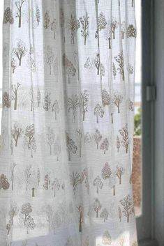 Bring in the cool breeze and let it sway effortlessly into your home through these elegant sheer and cotton drapes! Make a statement with our signature printed curtain designs. Voile Curtains, Printed Curtains, Sheer Drapes, Cotton Curtains, Sheer Fabrics, Panel Curtains, Large Furniture, Furniture Sale, Furniture Design
