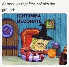 Stupid Funny Memes, Funny Relatable Memes, Funny Posts, Funny Stuff, Funniest Memes, Saw Halloween, Spirit Halloween, Halloween Season, Jokes
