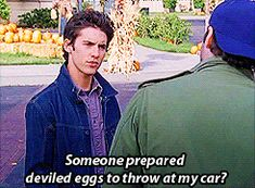 "Because you need to remember to TAKE THE DEVILED EGGS. | 45 Reasons ""Gilmore Girls"" Is The Best Thing To Happen To Netflix"