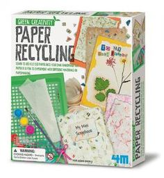Learn how paper are made and recycled. Create different texture and patterned paper which make unique bookmarks, note book, greeting cards and more.