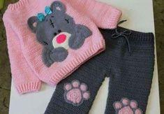 Ideas For Crochet Kids Sweater Jackets Crochet Baby Jacket, Crochet Baby Sweaters, Baby Girl Sweaters, Knitted Baby Clothes, Baby Girl Crochet, Crochet Blouse, Crochet Clothes, Crochet Toys, Knitting For Kids