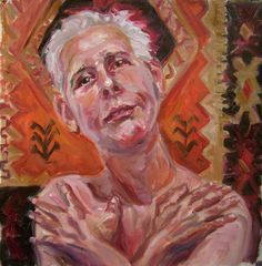 https://flic.kr/p/9xbJ1n | Clyde   Semler 3 , WIP, for jkpp | oil/c 13 by   14, not really done,  the hands gave me  some grief.. and looking way too angelic ... www.flickr.com/groups/portraitparty/discuss/7215762638041...  Clyde Semler's work is here www.flickr.com/photos/clydesemler/