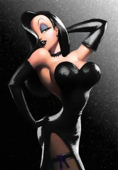 Jessica Rabbit In Black