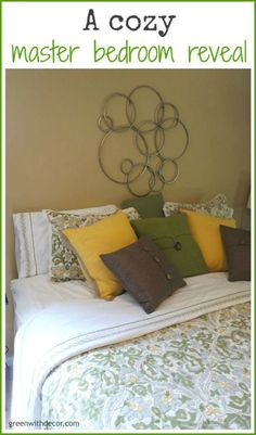 Green With Decor: The master bedroom – the perfect sheets #ad