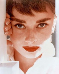 Audrey-Hepburn by fred baby, via Flickr