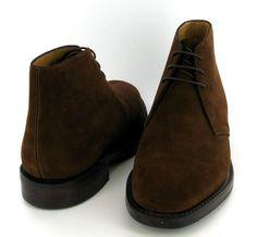 Loake Kempton Dark Brown Suede Boot --- Loake, Rieker, Anatomic Gel, Ecco, Josef Seibel, Nordika Slippers, Clarks, Sebago, Think shoes, Hunter Wellies, Superga and Gabor from Shoes By Post
