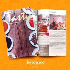 """Arte e conteúdo desenvolvido para o nosso cliente, Iceland Confeitaria, veiculado na revista """"Let's Tasty - Book Gastronomico Ribeirão Preto"""". #ColhaResultados!"""