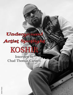 For the last decade Koshir has been grinding his ass off and strives to release the best hip-hop he has to offer, simply to support his children! This winter Koshir toured with underground favorite…