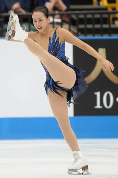 """「Japan Open 2013」 Mao Asada here executes her brilliant footwork into  the step sequences of her Free Program, in the women's free skate of 2013 Japan Open. This was the very first time she performed her later soonーtoーbecome epic, masterpiece long program of all, her→""""Piano Concerto No. 2"""" by Sergei Rachmaninoff, Choreographed by former Coach Tatiana Tarasovaー in front of the public at the Saitama Super Arena; October 5, 2013. ・"""