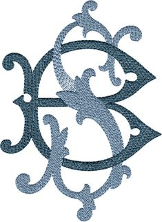 Latest Trend In Embroidery on Paper Ideas. Phenomenal Embroidery on Paper Ideas. Monogram Towels, Embroidery Monogram, Embroidery Fonts, Monogram Fonts, Monogram Letters, Embroidery Applique, Floral Embroidery, Machine Embroidery, Embroidery Designs