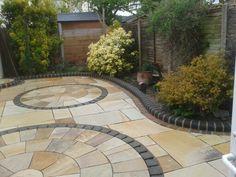 Indian stone patio