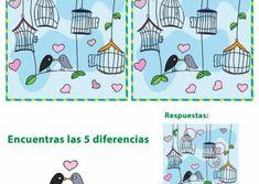 JUEGOS DE ENCONTRAR DIFERENCIAS ® Fichas infantiles Fruit Birthday, Comics, Pattern, Psp, Crafts, Gifs, Babies, Party, Adhd Kids