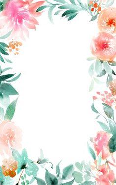 Aguarela floral