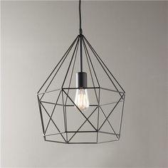 Young House Love Geometric Diamond Lantern - Shades of Light