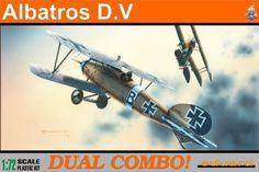 Fighter WWI Albatros D.V - model Eduard 7021