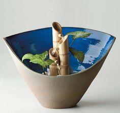 Como fazer uma fonte de bambu passo a passo Tutorial