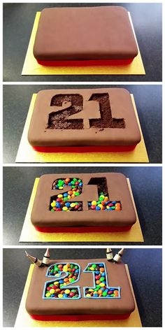 Best design details of birthday cake. The post-European elegance. The best design Food Cakes, Cupcake Cakes, Number Cakes, Creative Cakes, Cakes And More, Party Cakes, Let Them Eat Cake, Cake Cookies, Oreo Cookie Cake