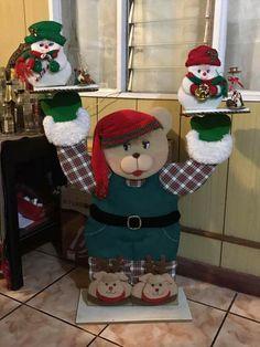 Elf On The Shelf, Holiday Decor, Home Decor, Christmas Projects, Bears, Fabrics, Decoration Home, Room Decor, Interior Design