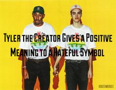 Tyler the Creator is known for his bold and sometimes controversial statements, but this one is something that we at OOGEEWOOGEE applaud