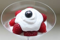Decadent Coconut Milk Whipped Cream with Berries and Dark Chocolate Coconut Mousse
