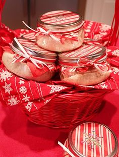 Cranberry-Citrus Cream Cheese (cream cheese, cranberry sauce, frozen OJ concentrate, powdered sugar)...great holiday gift!