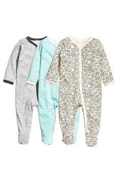 Piżama 3-pak | H&M 99,90 zł
