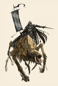 Dunmer warrior of House Dres by VictoriaDAEDRA on DeviantArt