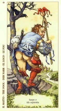0. The Fool: Durer deck