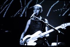 Gail Ann Dorsey- one of the best bass players out there, and a bad ass chick.