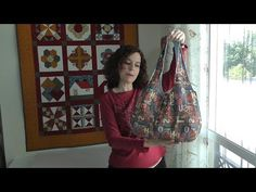 How to do a reversible purse - Patterns free Purse Patterns Free, Free Pattern, Handmade Bags, Purses And Bags, Sewing Crafts, Reusable Tote Bags, Japanese Bags, Quilts, Free Sewing