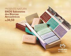Presente Natura Ekos Sabonetes dos Biomas Amazônicos - 6und de 50g