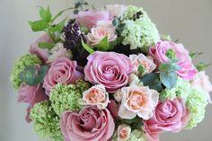 bouquet, floral design, flower arrangement, lilac,viburnum,