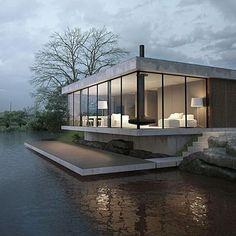 Great design and visualization by Illis Tovstonog + Sergey Makhno #architecture_se7en _______